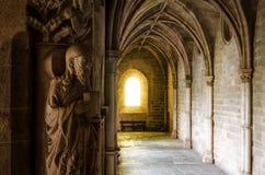 Монастыри собора Evora Португалии стоковое фото