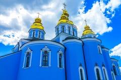 Монастырь 12 Киева St Michael стоковое изображение