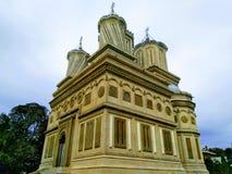 Монастырь Arges стоковые фото