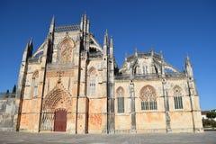 Монастырь Batalha, Batalha Португалии стоковое фото rf