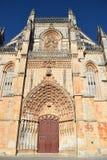 Монастырь Batalha, Batalha Португалии стоковая фотография