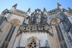 Монастырь Batalha, Batalha Португалии стоковое изображение