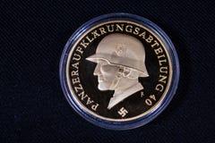 1940 монеток гитлеровского рейха нацистской Германии стоковые изображения