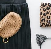Мода и блоггер категорично стоковое фото rf