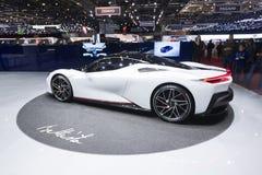 Мотор-шоу 2019 Женевы международное стоковые фото
