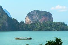 Море бирюзы в Таиланде стоковые фото