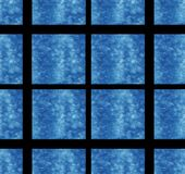 Море лета одежды ткани черноты предпосылки украшения куба голубого квадратного искусства дизайна обоев текстуры предпосылки карти бесплатная иллюстрация
