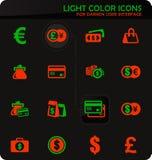 Набор значков E-commers бесплатная иллюстрация