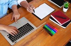Наведение образования уча консультируя совет стоковые изображения rf