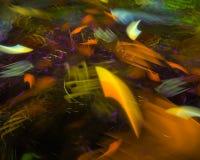 Науки картины фрактали текстуры конспекта элегантность украшения цифровой красивой творческая футуристическая, динамика иллюстрация штока