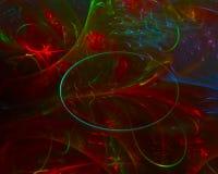 Науки фрактали текстуры конспекта элегантность украшения красочной творческая футуристическая, динамика иллюстрация вектора