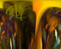 Науки фрактали текстуры конспекта элегантность украшения цифровой творческая футуристическая, динамика иллюстрация штока