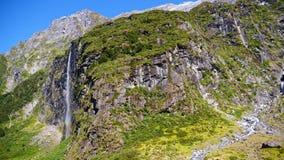 Национальный парк держателя Aspiring, Новая Зеландия сток-видео