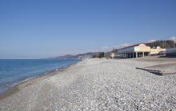 На побережье Чёрного моря стоковые фото