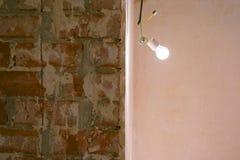Незаконченные ремонты в квартире стоковые фото