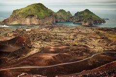 Неимоверная природа Исландии, отключение к Исландии стоковые изображения rf