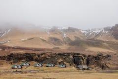 Неимоверная природа Исландии, отключение к Исландии стоковые фотографии rf