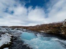 Неимоверная природа Исландии, отключение к Исландии стоковое изображение rf