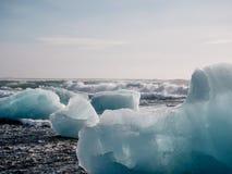 Неимоверная природа Исландии, отключение к Исландии стоковое изображение