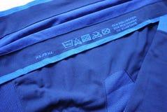 Нижнее белье спорт термальное Детали, материал, конец-вверх стоковая фотография