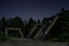 Памятник виселицы на Zajecar стоковое фото