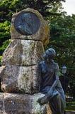 Памятник Antonio Franca Borges стоковое изображение rf