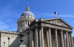 Пантеон в Париже, Франции стоковая фотография