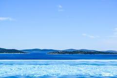 Панорамный вид seascape стоковое изображение rf
