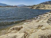 Панорамный таза озера Isabella стоковые изображения