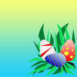 Пасхальные яйца. stock photos