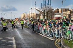 Парад дня St Patrics Дублина, Ирландии 17-ое марта 2019 стоковые фото