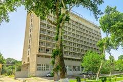 Парк 08 бульвара университета Самарканда стоковые фотографии rf