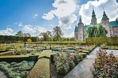 Парк замка Rosenborg стоковые фотографии rf