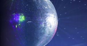 Пейзаж диско Светильники шарика диско согласие место акции видеоматериалы