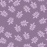 Seamless floral print with leaves. royalty free illustration