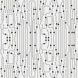 Vector circuit board illustration. Vector circuit board background. Abstract flat circuit board illustration royalty free illustration