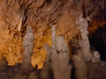Пещера сталактита в Perama Янине Греции стоковое фото rf