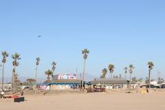 пляж huntington стоковое изображение rf