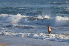 пляж huntington стоковые фотографии rf