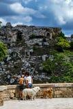 Публикация благоговения чудесного старого Matera, Италия стоковая фотография rf