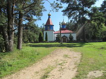 православный храм royalty free stock photos