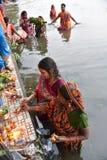 празднество Индия chatt стоковая фотография