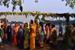 празднество Индия chatt стоковое изображение rf