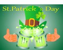 Праздник дня ` s St. Patrick иллюстрация вектора