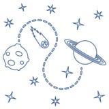 Предпосылка вектора космоса astrix наука иллюстрация штока