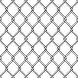Предпосылка загородки звена цепи иллюстрация вектора