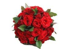 Предпосылка изолированная красной розой черная стоковая фотография rf