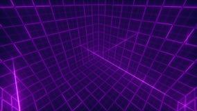 Предпосылка куба решетки видеоматериал