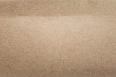 Предпосылка текстуры картона Поверхность старой бумаги Материал коробки стоковая фотография