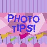 Примечание сочинительства показывая подсказки фото Предложения фото дела showcasing для того чтобы прислушаться хорошие изображен иллюстрация вектора